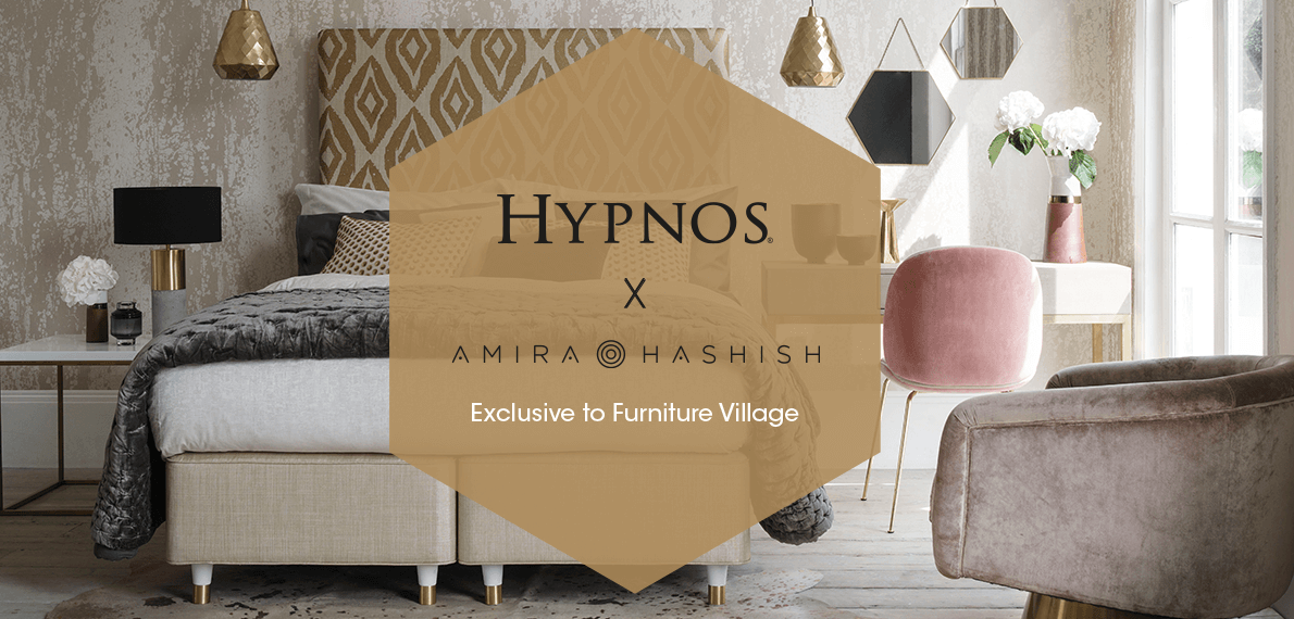 Furniture Village Brighton hypnos amira hashish bed collection - furniture village