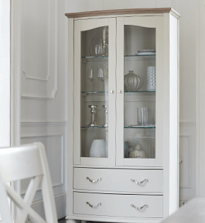 Furniture Village display cabinets