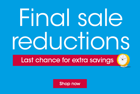 Final sale reductions
