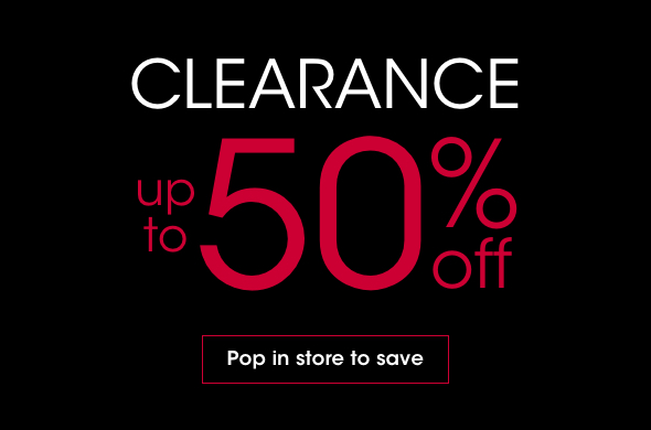 Clearance instore