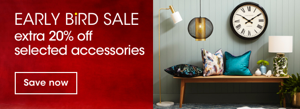 Extra 20% off selected accessories