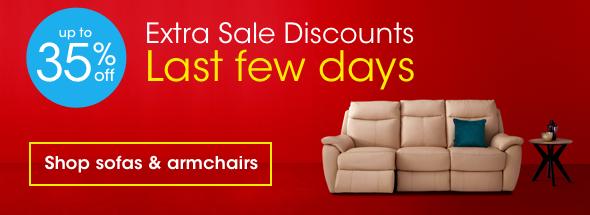 Extra Sale Discounts sofas