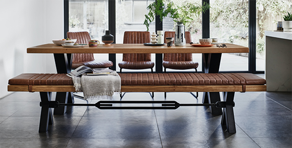 The Industrial Furniture Collection, Industrial Dining Room Table