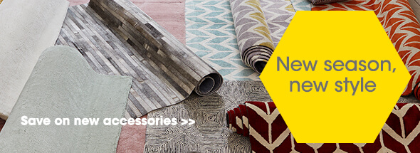 New accessories at Furniture Village