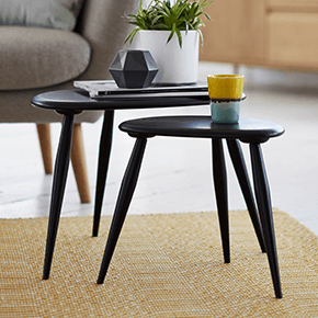 Furniture Village nest of tables