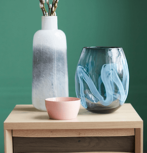 Furniture Village vases