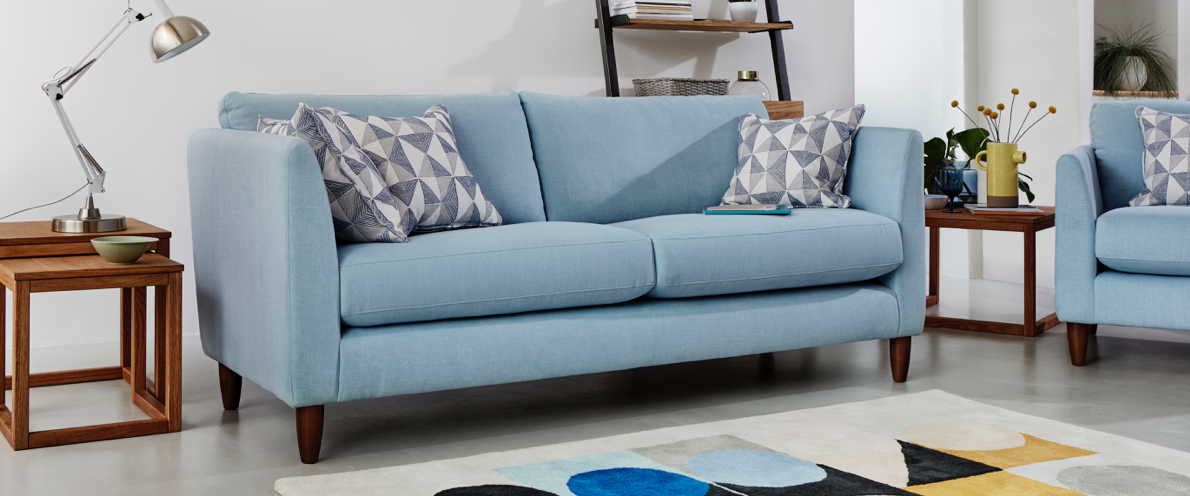 The now collection at Furniture Village