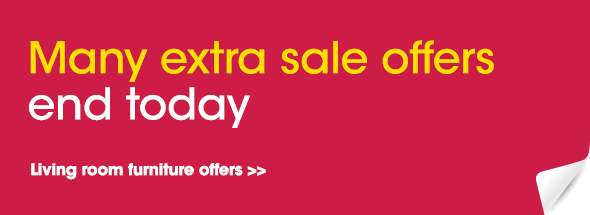 Extra sale offers at Furniture Village