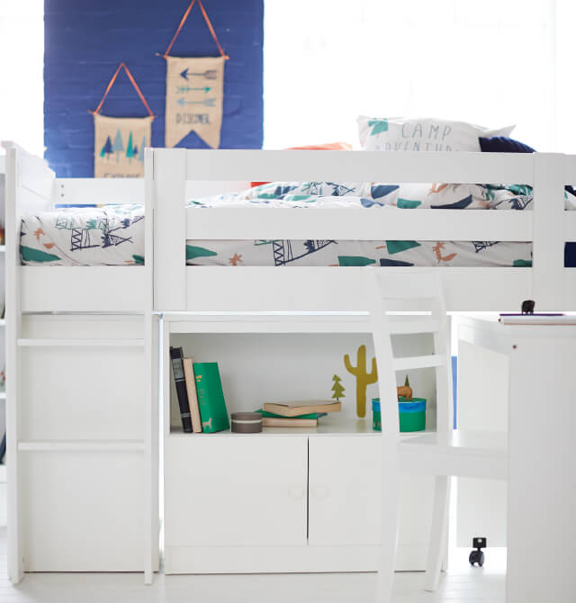 As Your Child Grows Ever Taller, Space Is Even More At A Premium. The  Beauty Of Cabin Beds Is That They're Multifunctional. By Day, Pull Out A  Desk For ...