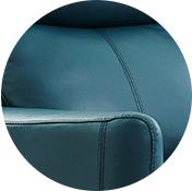 'Club' leather