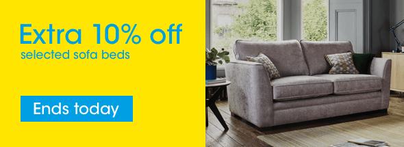 Extra 10% off sofa beds