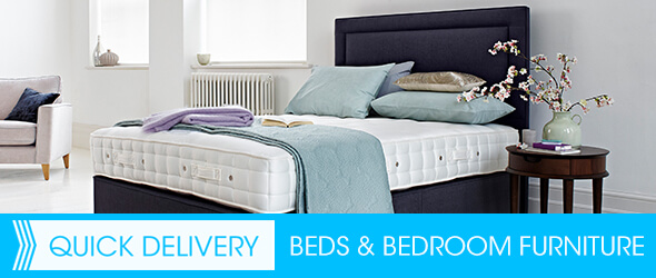 Quick delivery beds