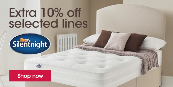 Extra 10% off selected Slumberland at Furniture Village