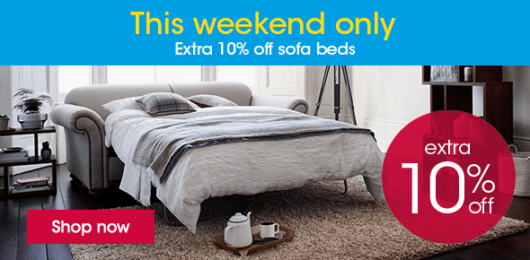 10% off Sofa Beds This Weekend Only